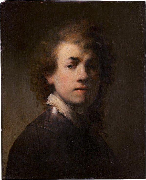 Rembrandtův autoportrét