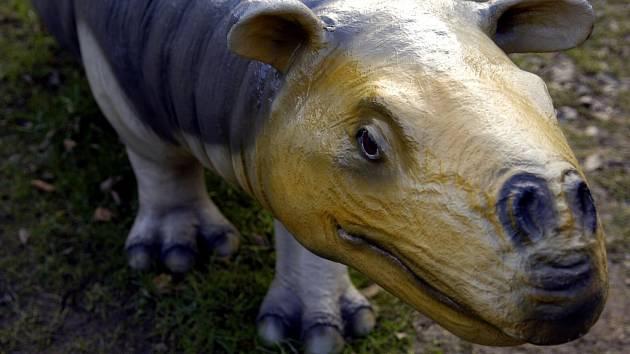 Moeritherium, dávný předchůdce slonů.