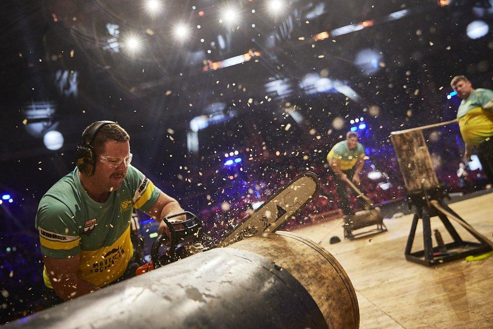 Nejlepší sportovní dřevorubci míří do Prahy