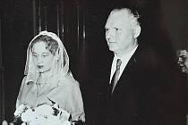 Svatební foto Juliány a Miroslava Lápkových