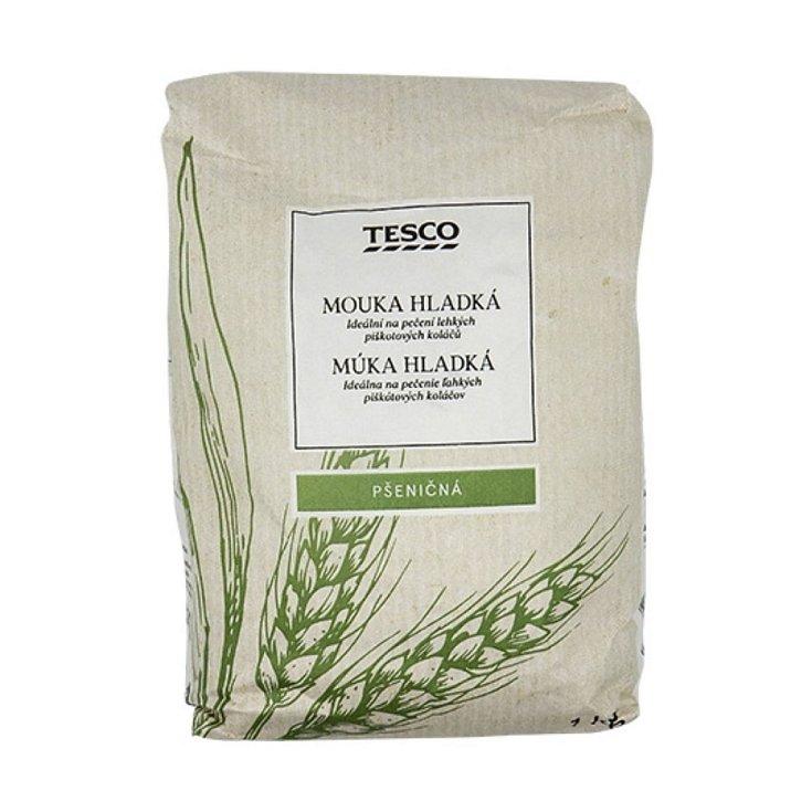 Tesco Mouka hladká pšeničná