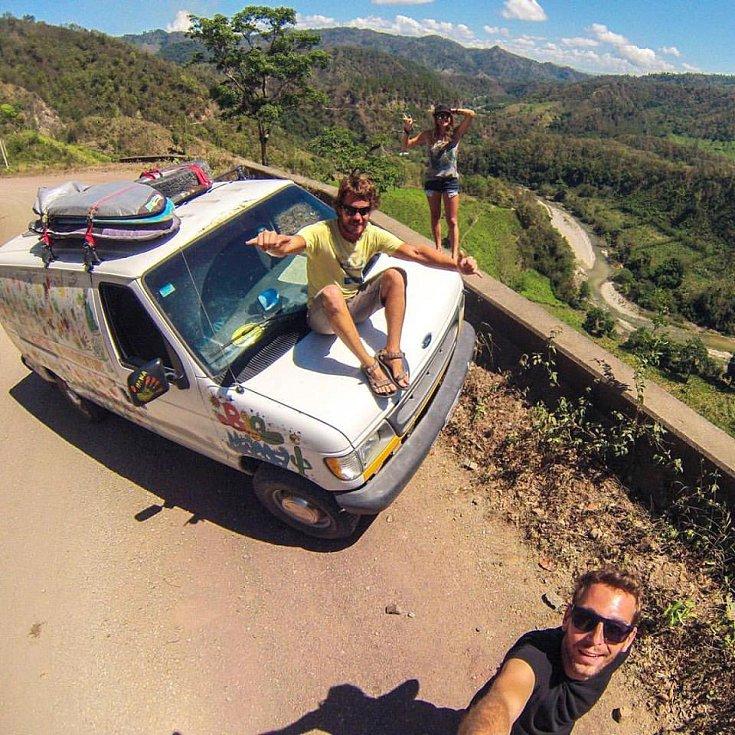 Guatemala je nádherná! Nejkrásnější a zároveň nejnáročnější jsou cesty přes hory