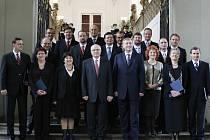 Někdejší vláda premiéra Mirka Topolánka