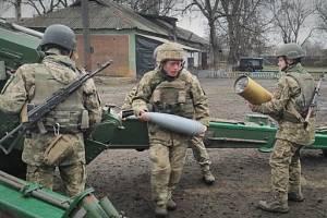 Vojáci na rusko-ukrajinské hranici