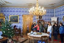 Zámek Hrubý Rohozec u Turnova, vánoční prohlídka