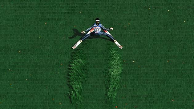 Skoky na lyžích - ilustrační foto