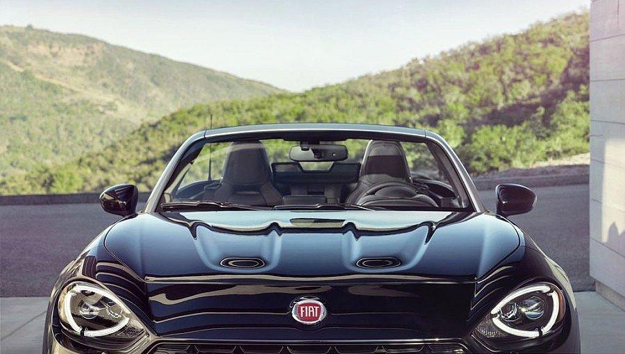 Fiat 124 Spider.