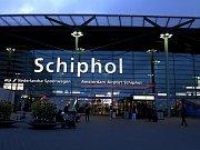 Mezinárodní letiště Schiphol v Amsterdamu.