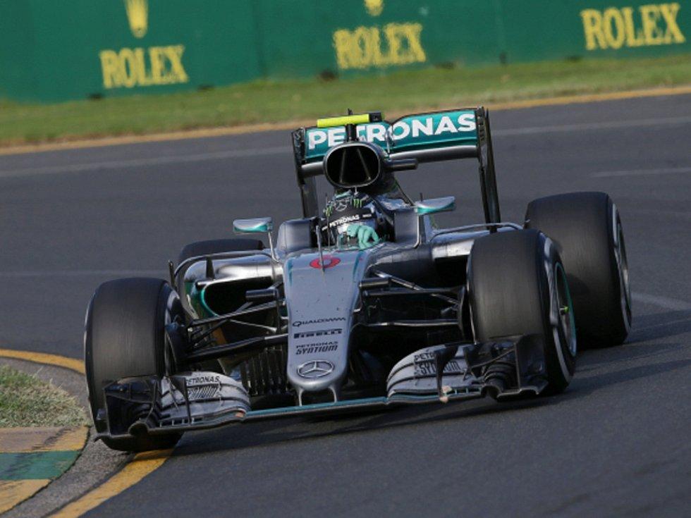 Nico Rosberg ve Velké ceně Austrálie.