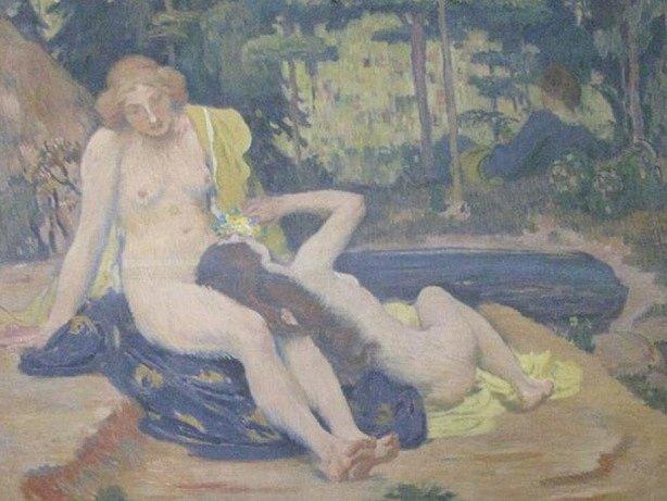 Obraz Koupání Jana Preislera
