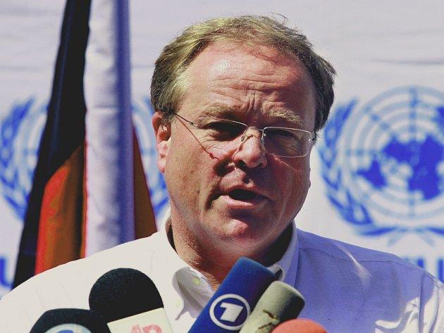 Německý ministr pro rozvoj Dirk Niebel z koaliční FDP.