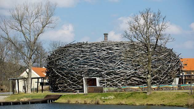 Farma Čapí hnízdo u Olbramovic na Benešovsku