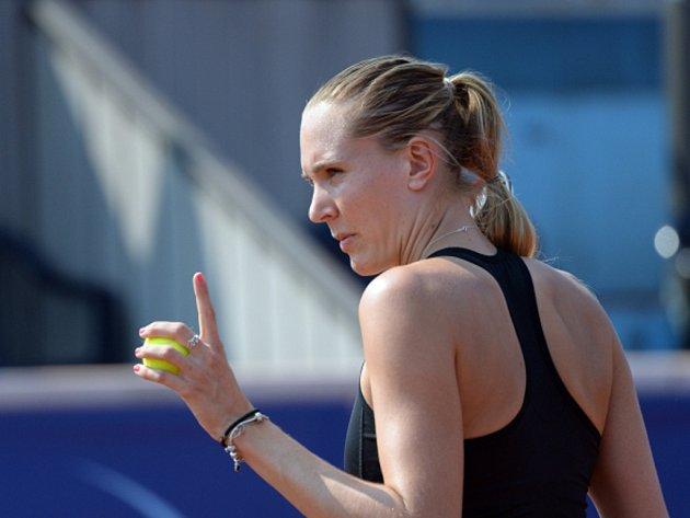 Nicole Vaidišová na turnaji v Praze.