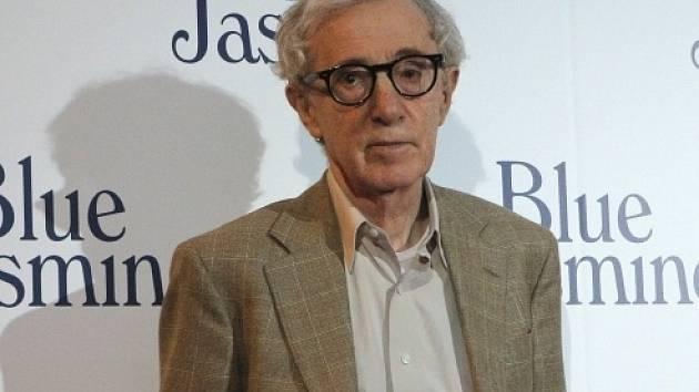 Americký režisér Woody Allen.
