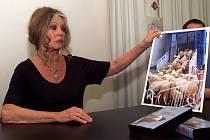 Filmová hvězda a aktivistka Brigitte Bardotová