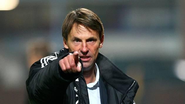 Fotbalový trenér František Straka.
