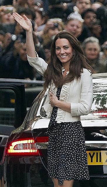 Kate Middletonová.