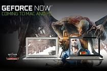 Nová služba GeForce Now.
