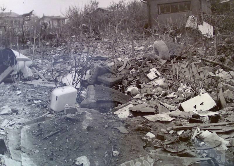 Suchdol, 30. října 1975. Obraz zkázy