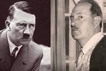 Adolf Hitler a jeho údajný syn Jean-Marie