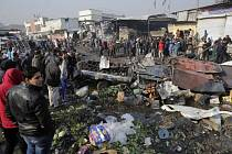 Dva pumové útoky v Bagdádu: nejméně 20 mrtvých