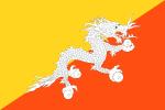 Vlajka Bhútánu
