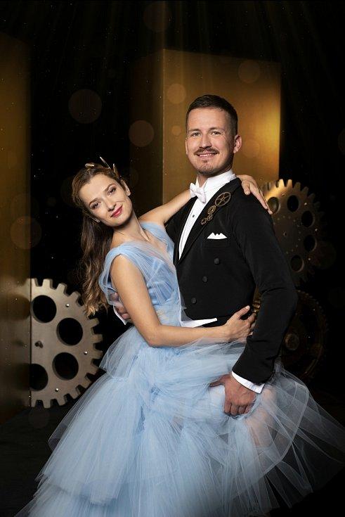 Herečka Marika Šoposká a Robin Ondráček