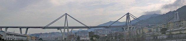 Most vJanově ve své původní podobě.