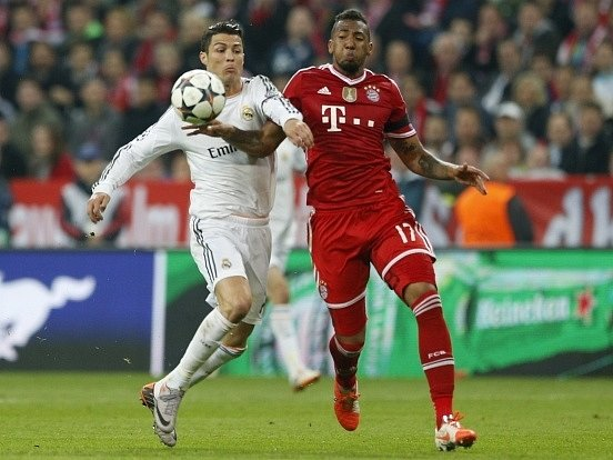 Bayern Mnichov - Real Madrid: Cristiano Ronaldo a David Alaba