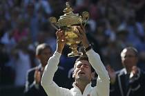 Finále Wimbledonu: Novak Djokovič