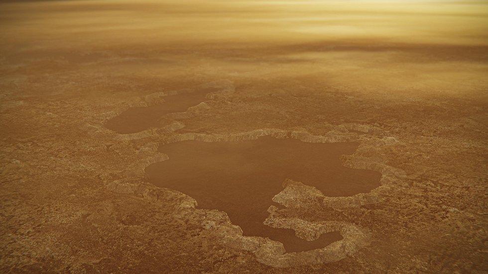 Povrch Titanu