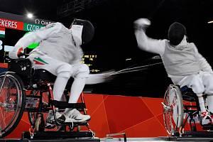 Pál Szekeres během paralympijských her v Londýně.