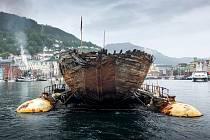 Loď Maud se vrátila do Norska