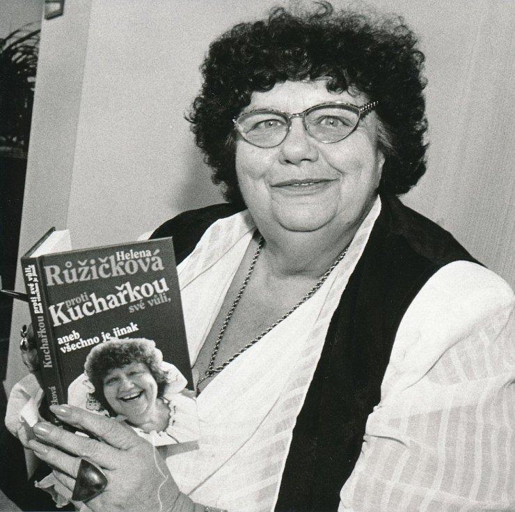 Helena Růžičková je nezapomenutelná.