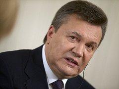 Sesazený ukrajinský prezident Viktor Janukovyč.