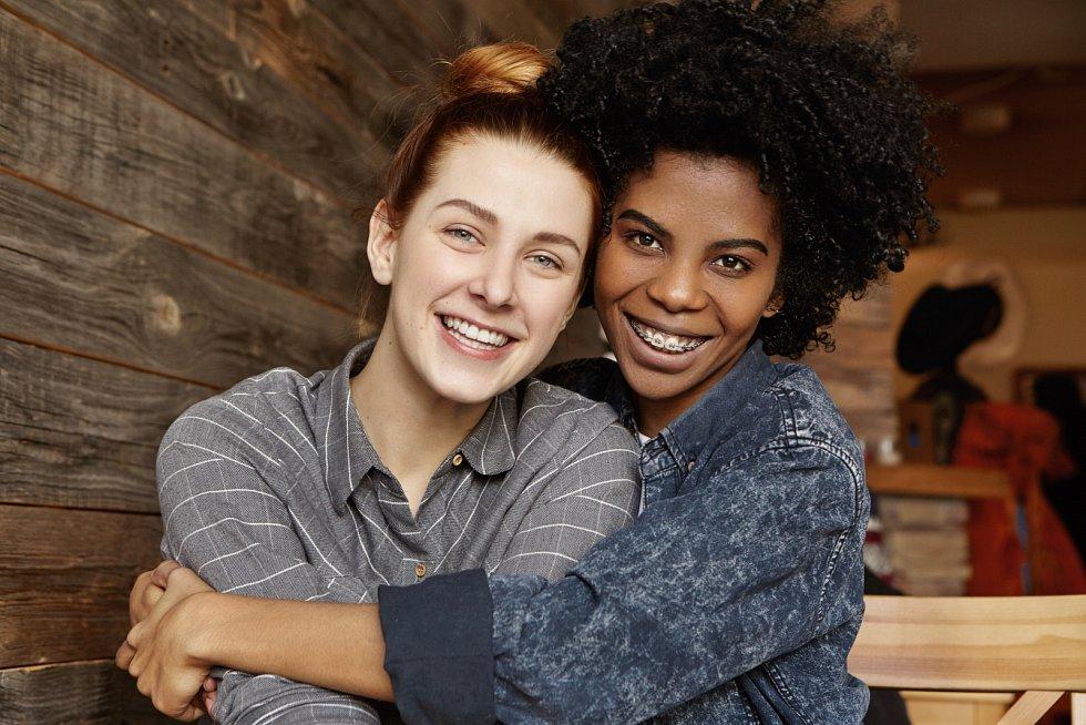 Homosexuální pár, ilustrační foto