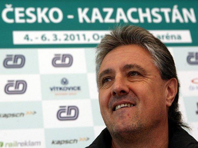 Kapitán českého daviscupového týmu Jaroslav Navrátil.