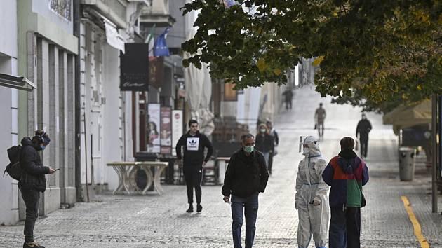 Odběrové centrum na Václavském náměstí