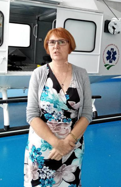 Vladislava Filová, ředitelka Zdravotnické záchranné služby Kraje Vysočina