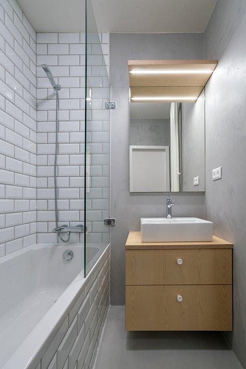 Architektura - Studio AEIOU. Rekonstrukce koupelny