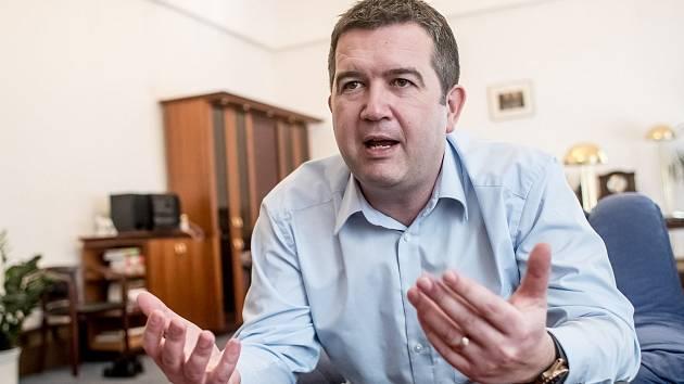 Předseda ČSSD Jan Hamáček, pověřený dočasně řízením ministerstva zahraničí