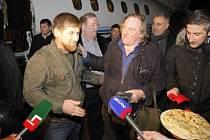 Gérard Depardieu a Ramzan Kadyrov