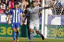 Cristiano Ronaldo z Realu Madrid sestřelil hattrickem Alavés.