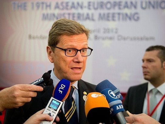 Německý ministr zahraničí Guido Westerwelle