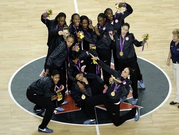 Favorizované basketbalistky USA porazily ve finále olympijských her Francii.
