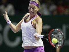Petra Kvitová úvodní zápas na Turnaji mistryň prohrála.