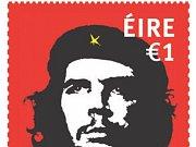Návrh irské poštovní známky připomínající 50 let od úmrtí Che Guevary