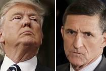 Donald Trump a Michael Flynn