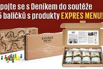 Zapojte se sDeníkem do soutěže o 5 balíčků sprodukty EXPRES MENU