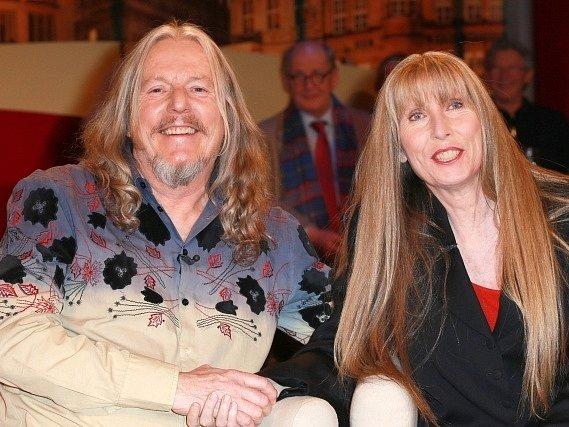PŘI TALK-SHOW. Wolfgang Beltracchi s manželou Helene.